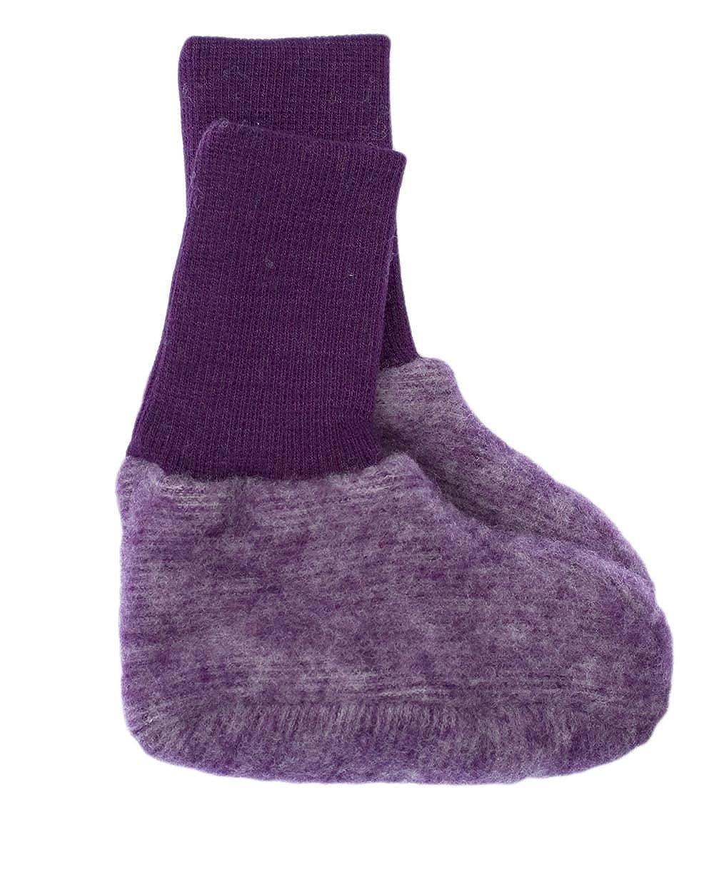 Cosilana - Botines de lana virgen orgánica para bebé (forro polar de merina) 46910