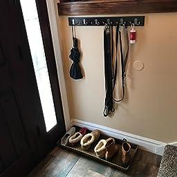 Amazon.com: BirdRock Home Dual Hook Coat and Hat Rack | 6 ...