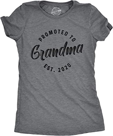 Abuela a ser Regalo Navidad Madres día Gracioso Camiseta