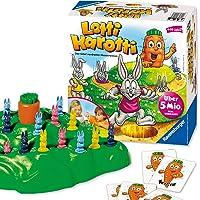 Ravensburger Lotti Karotti Brädspel Fest och Familjespel för barn och vuxna, 2-4 spelare, 4+ år