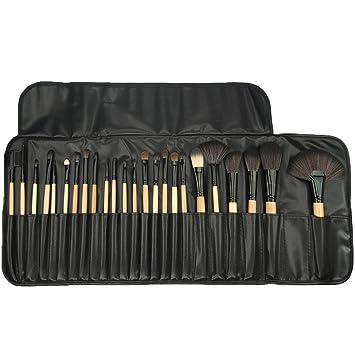 cosmetic brush set. best professional makeup brushes set - 24 pc cosmetic make up beauty blending for \u0026 brush