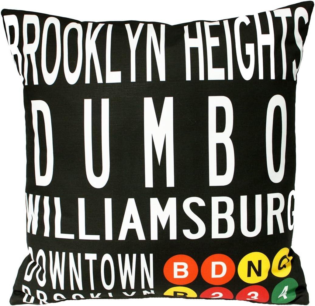 Downtown Brooklyn Pillow-19×19