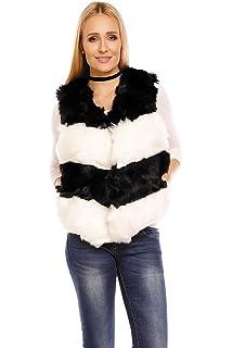 Damen Felljacke Herbst Winter Sweatshirt Bluse Mantel Jacke Fell Pullover CR-572