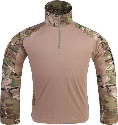 Hombre Camisa De Combate Militar Gen3 camisa táctica Multicam MC, Multicam: Amazon.es: Deportes y aire libre