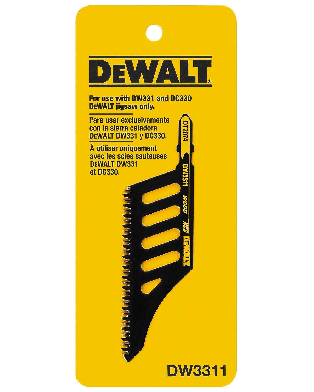 Dewalt dw3311 flush cut jig saw blade amazon diy tools greentooth Choice Image
