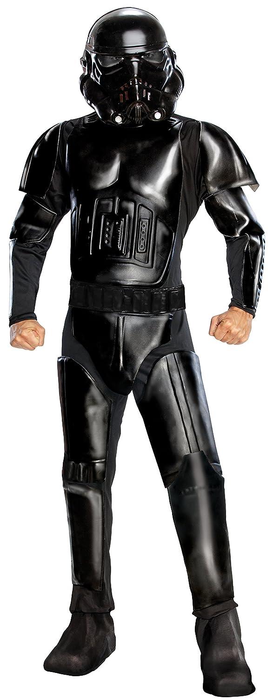 Amazon.com: Star Wars adultos Deluxe Shadow Trooper disfraz ...
