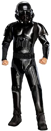Star Wars Adult Deluxe Shadow Trooper Costume Black X-Large  sc 1 st  Amazon.com & Amazon.com: Star Wars Adult Deluxe Shadow Trooper Costume: Clothing