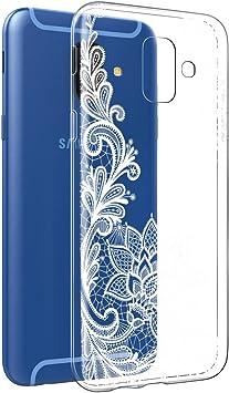 Eouine Funda Samsung Galaxy A6 2018, Cárcasa Silicona 3D ...