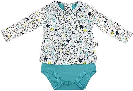 Body – Camiseta Bebé Niño Little Moon – Talla – 9 meses (74 cm): Amazon.es: Bebé