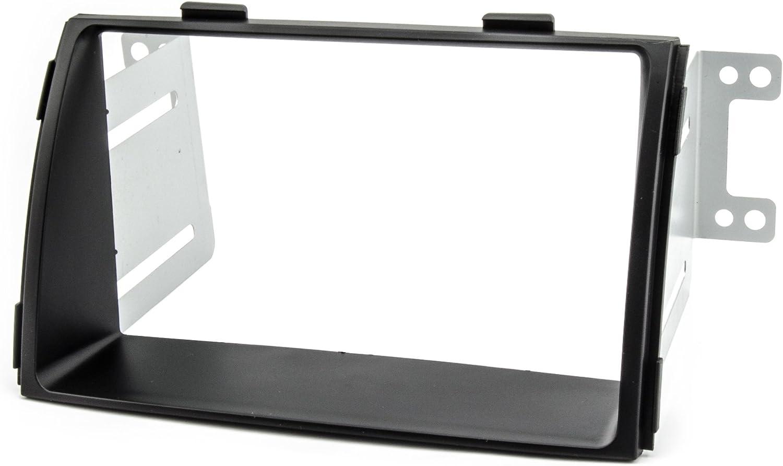 Watermark WM-6410 Fa/çade dautoradio Double DIN 2DIN pour Kia Sorento XM 2009-2012 Noir