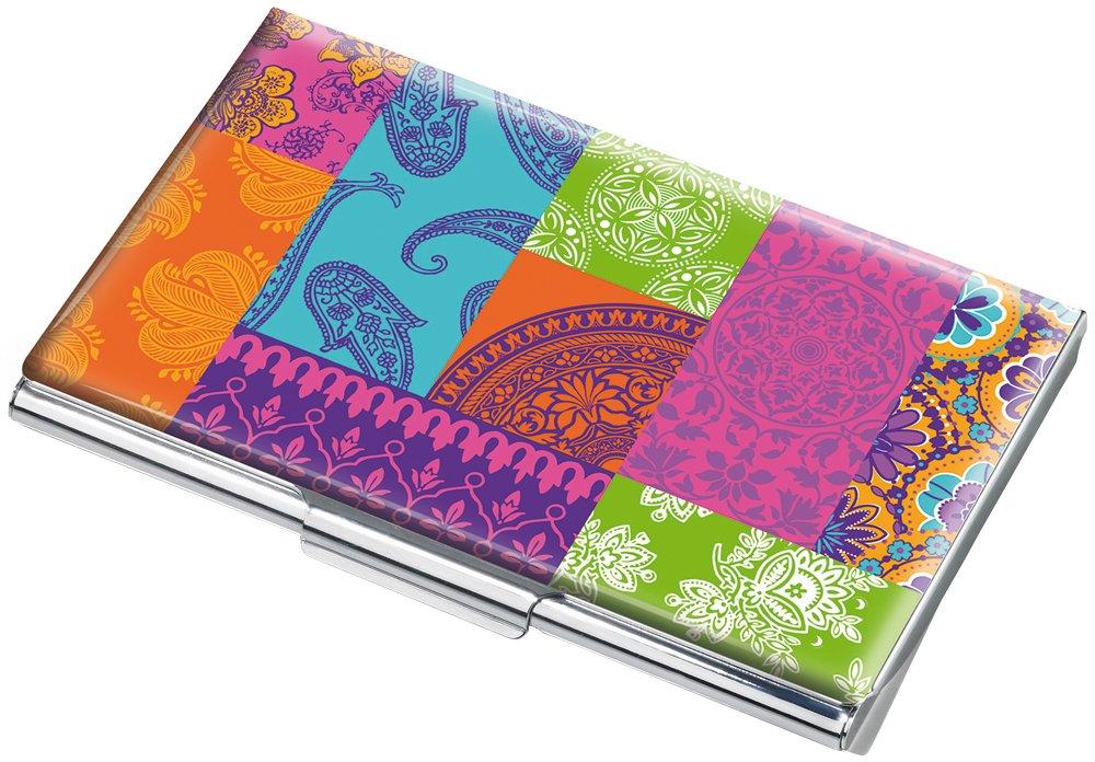 Troika Porta biglietti da visita, Multicolore (Multicolore) - CDC10-A134