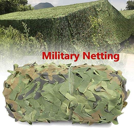 FKDENET Los Militares camuflan Neto 150D Oxford Tela de ocultación Malla Sombra Neta for jardín sombreado Pergola decoración Exterior Toldo 5x10m 2x3m (Size : 3x4m): Amazon.es: Hogar