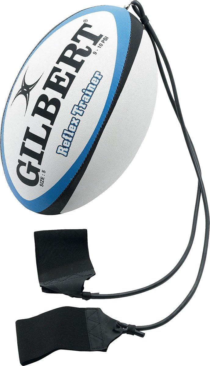 ギルバートラグビースポーツトレーニング&練習ボールReflexキャッチトレーナーサイズ5