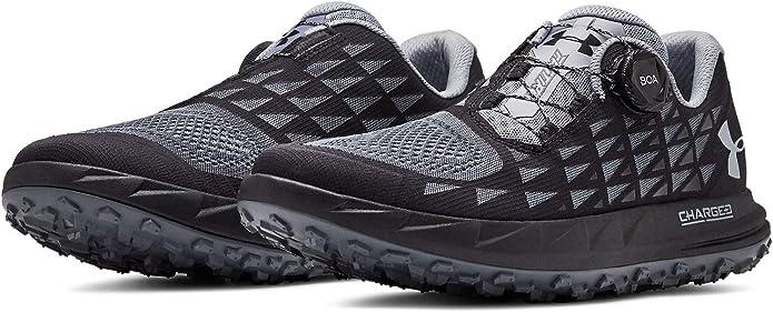 Under Armour- - Fat Tire 3 Hombre, (Black/Pitch Gray), 46 EU: Amazon.es: Zapatos y complementos
