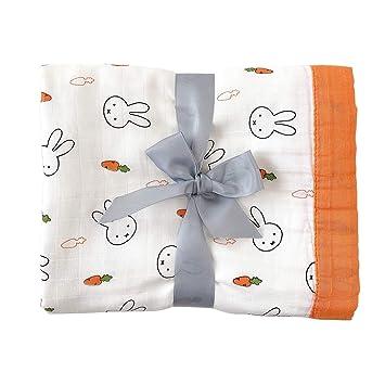 "4 x Baby Nursing Wrap swaddling cotton Receiving Blankets Pack 30 x 30/"" girls"