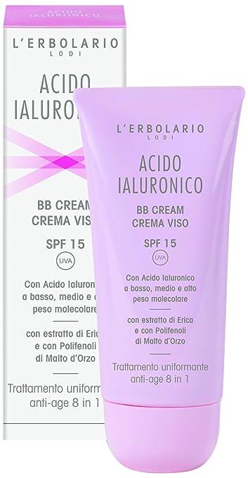 2 opinioni per L 'erbolario acido ialuronico BB Cream Face