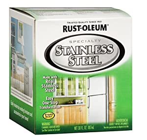 Rust-Oleum 247963 Specialty Oil Based Appliance, Stainless Steel, 30 Fl. Oz.