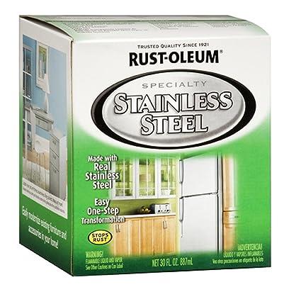 Rust-Oleum 247963 Specialty Oil Based Appliance, Stainless Steel, 30 Fl  Oz