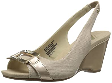 Anne Klein AK Sport Women's Willful Dress Pump, Gold, ...