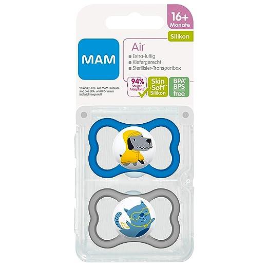 Amazon.com: MAM Aire silicona 226311 maniquíes 16 + 2 ...