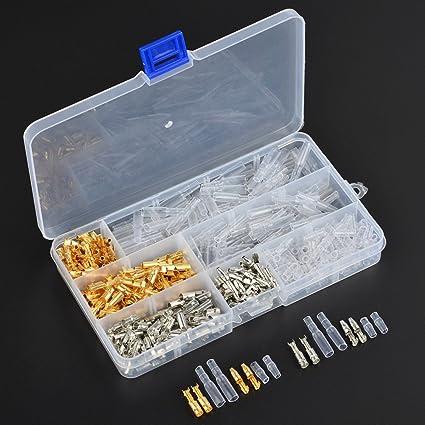 Fantastic Amazon Com Atpwonz 100Packs 3 9Mm Brass Bullet Male Female Wire Wiring Digital Resources Operbouhousnl
