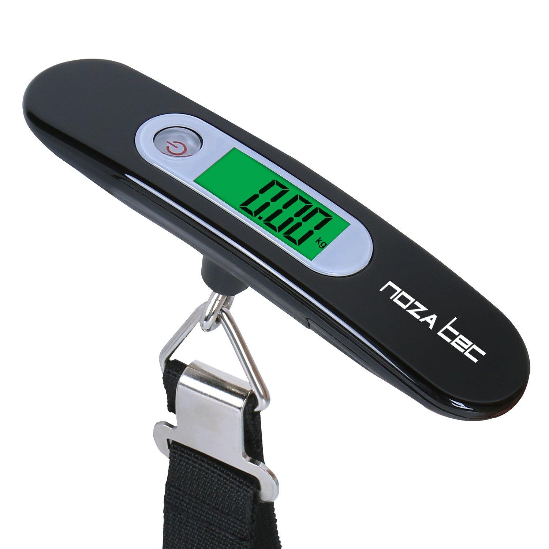Noza Tec equipaje escala Portable Digital Escala colgante Escala equipaje/maleta con función de tara para viajar/al aire libre/en casa, ...