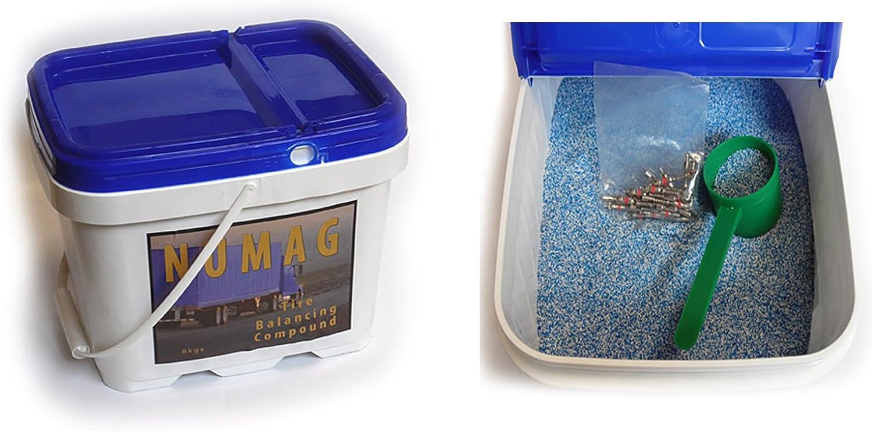 8kg Magnum Numag Granulat Auswuchtgranulat 8000g Auswuchtperlen Mikroperlen Auswuchtpulver Auto