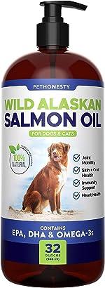 Wild Alaskan Salmon Oil for Dogs - Omega-3 for Dogs -
