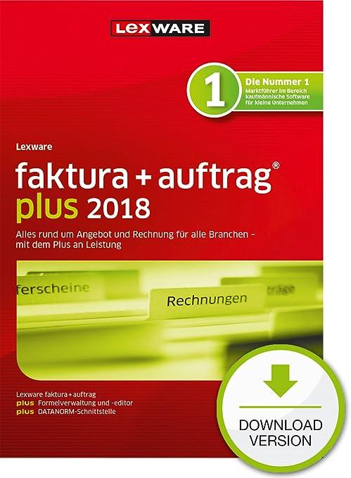 Lexware Fakturaauftrag 2018 Basis Version In Frustfreier Verpackung