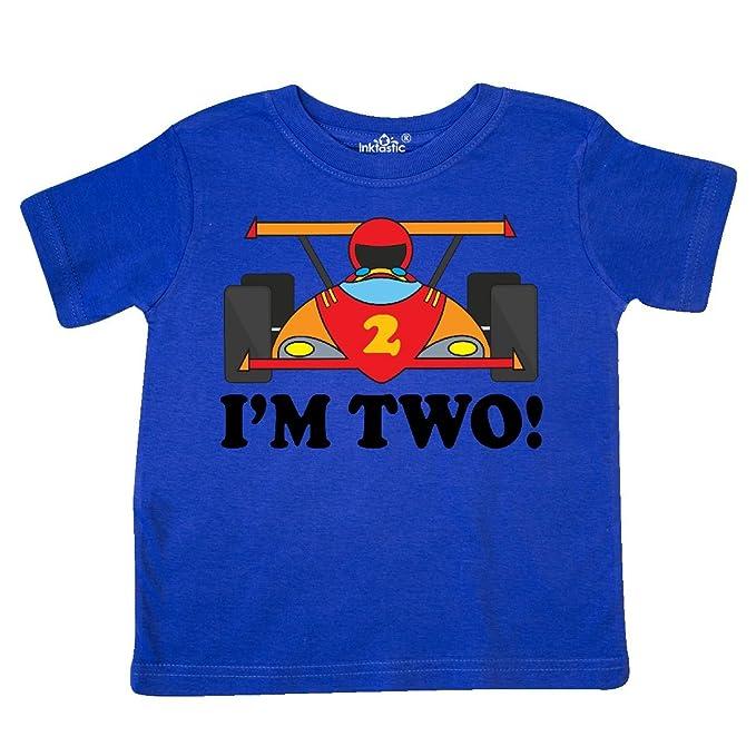 e15bab847 inktastic - Race Car 2nd Birthday Boys Racing Toddler T-Shirt 2T Royal Blue  6519