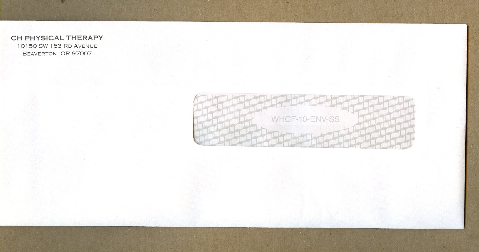 1,000 Customize Envelopes for the CMS 1500 Claim Forms... Imprinted with your return address!