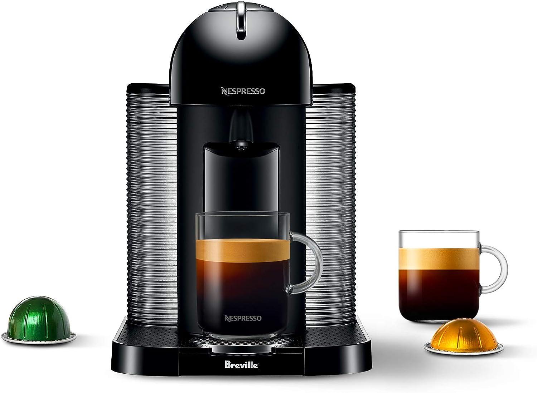 Nespresso GCA1-US-BK-NE VertuoLine cafetera y cafetera expreso ...