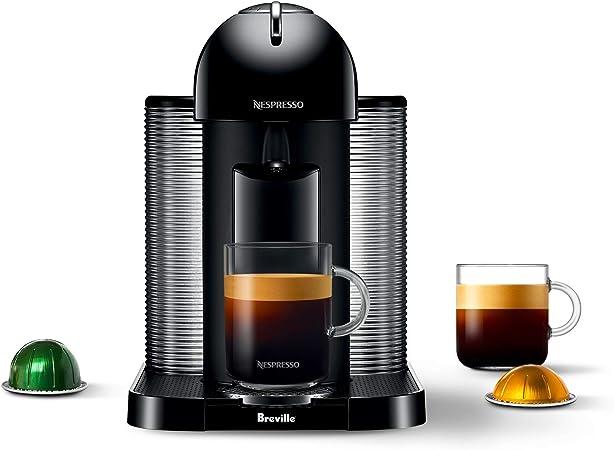 Nespresso GCA1-US-BK-NE VertuoLine cafetera y cafetera expreso, color negro: Amazon.es: Hogar