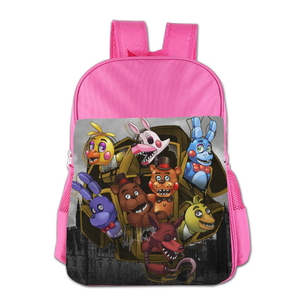 Launge Kid's Five Nights At Freddy School Bag Backpack