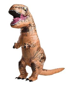Jurassic World - Disfraz hinchable para hombre de T-Rex: Amazon.es ...