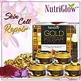 Nutriglow Adbeni Nutriglow Gold Keshar Facial Kit Instant Radian Shine & Youthful Glow Facial Kit 250 Gm
