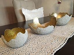 1 5 kg beton set f r kreative windlichter champagner. Black Bedroom Furniture Sets. Home Design Ideas