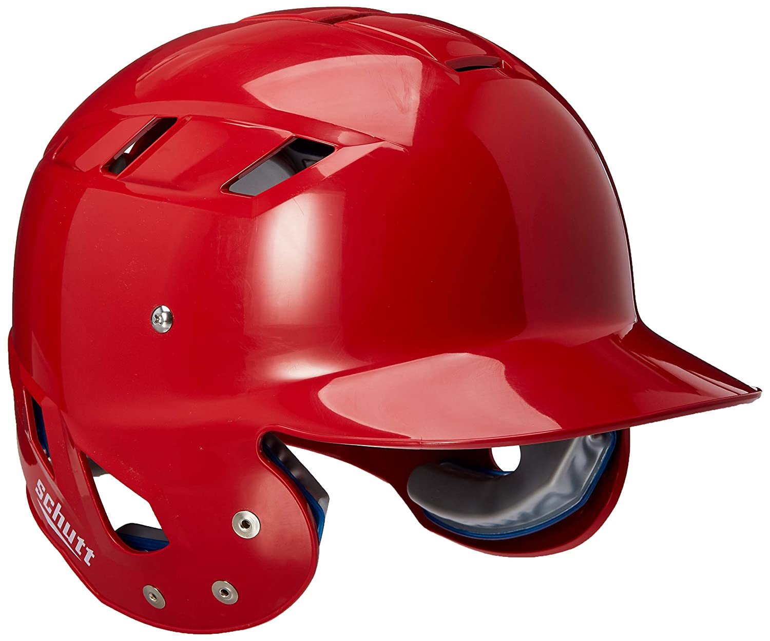 Scarlet Large Schutt Sports AiR Maxx T Baseball Batter's Helmet
