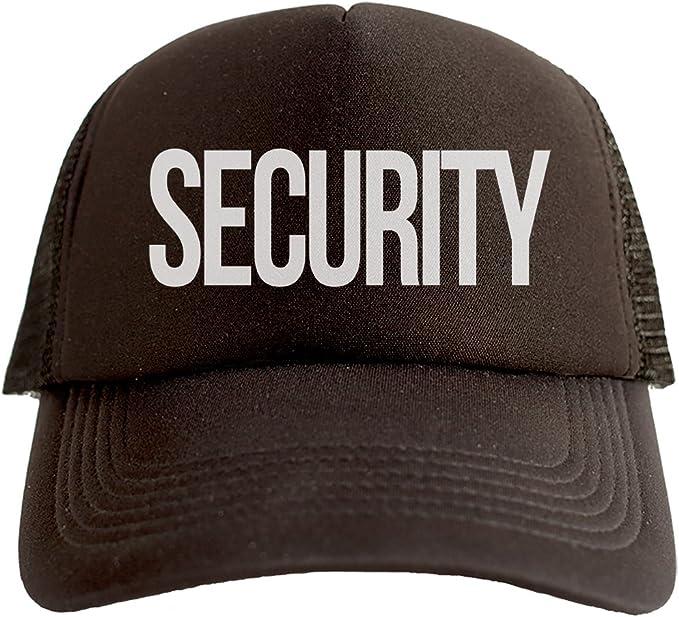 Security Cool Swag Hip Hop impresión Trucker Sombrero Gorra Tapa ...