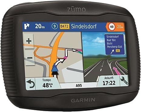 Garmin 7.53759E+11 Sistema de navegacion GPS Zūmo 345LM 4.3 Pulgadas con Mapa de Europa 22 países y actualización Gratis, Pantalla 4,3