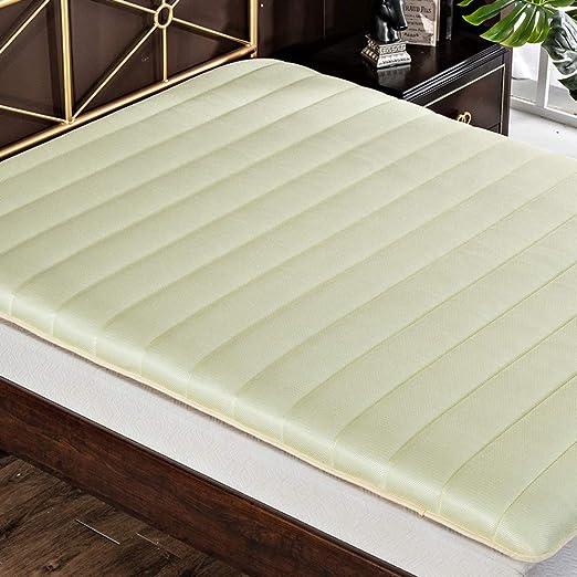 Japonés Suelo Futón Colchón Topper De Tatami,respirable Cool Sleep ...