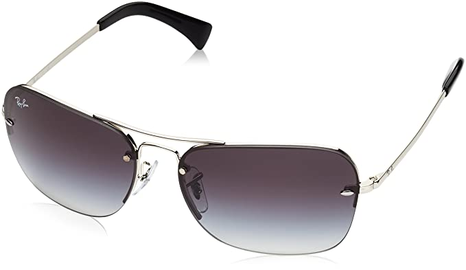 05c10cc241 Amazon.com  Ray-Ban Men s Metal Man Sunglass Rectangular