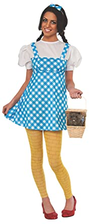5b7c2d0d09635 Rubie's Women's Wizard of Oz 75th Anniversary Young Adult Dorothy Costume