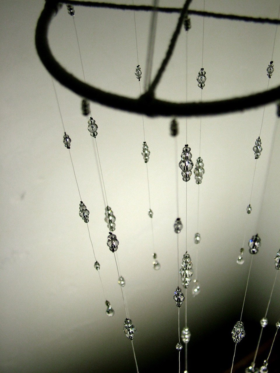 Small Bling Wedding Mobile Swarovski Crystal Baby Nursery Mobile Hanging Crystal Wedding Feature Baby Crystal Mobile Wedding Decor Babyshower Gift