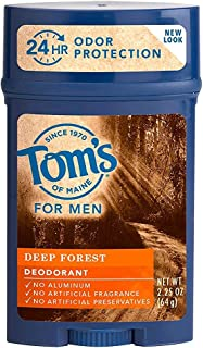 product image for Tom's of Maine For Men Deep Forest Deodorant 2.25 oz (Packs of 2)