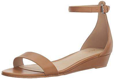 ALDO Women's Kerina Heeled Sandal, Cognac, ...