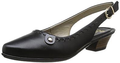 Tamaris 29400, Damen Slingback Pumps, Schwarz (Black Leather 003), 40 EU (7 Damen UK)