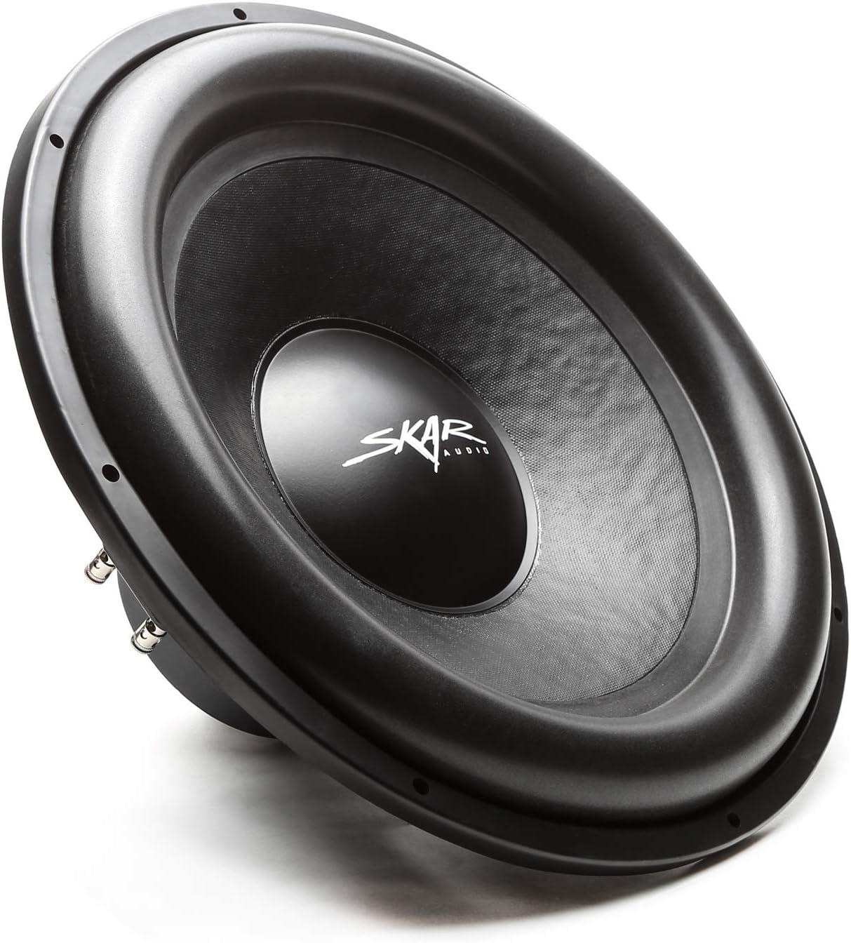 Skar Audio SDR-10 D4 10 1200 Watt Max Power Dual 4 Ohm Car Subwoofer
