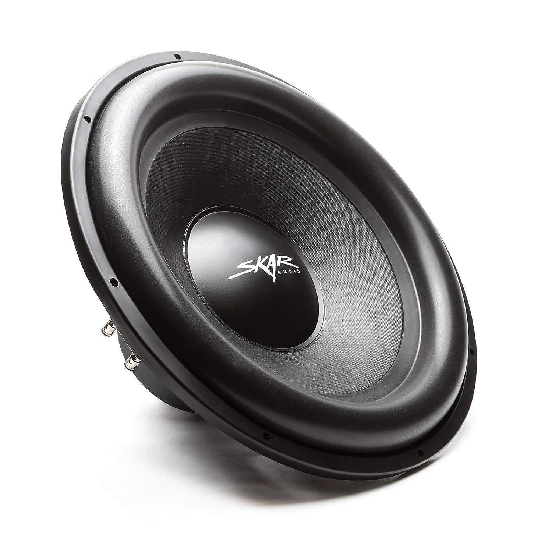 Skar Audio SDR-8 D4 8 700 Watt Max Power Dual 4 Ohm Car Subwoofer