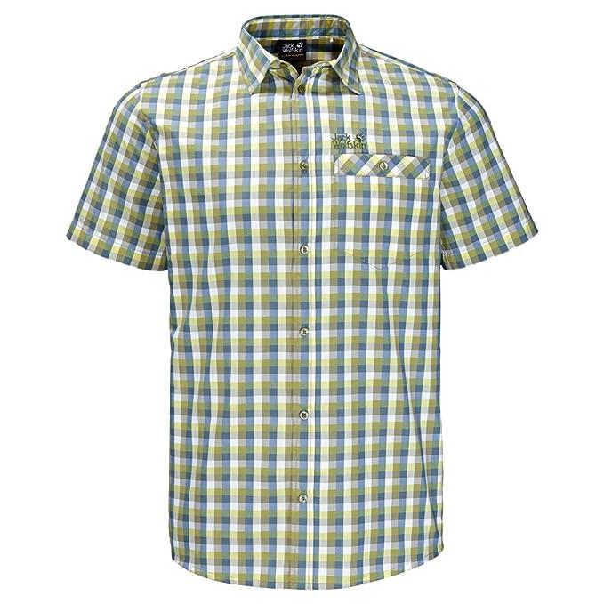 Jack Wolfskin Men's Napo River Shirt: Amazon.co.uk: Clothing